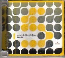 (CJ390) Sync-2-fit Catalog, 40 tracks various artists - 2004 double DJ CD