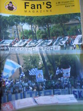 FAN'S MAGAZINE ULTRAS 96 2005 Genoa vs Catanzaro