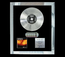 METALLICA RELOAD   MULTI (GOLD) CD PLATINUM DISC FREE POSTAGE!!
