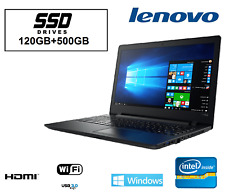 ORDENADOR PORTATIL LENOVO INTEL 8gb /SSD 120GB + 500GB/ WINDOWS 10 PROFESIONAL