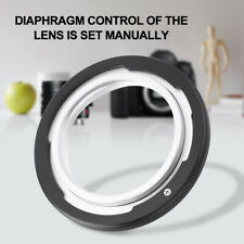 M42-FD Metal M42 Screw Lens to for Canon FD F-1 A-1 T60 Film Camera Adapter Ring
