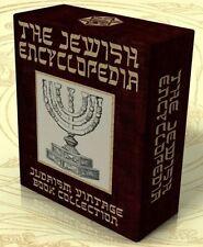THE JEWISH ENCYCLOPEDIA 1901-06 12 Vols on DVD +13 Bonus E-Books Judaism, Jews
