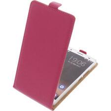 Funda para Oukitel K6000 Plus Protectora Teléfono Móvil con Tapa Carcasa Rosa