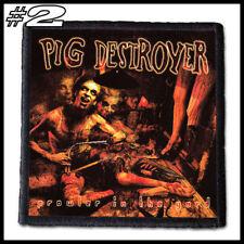 PIG DESTROYER  --- Patch / Aufnäher --- Various Designs