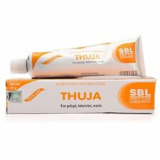 Thuja Homeopathic Herbal Cream wart remover mole skin tag removal 25g Free Ship.