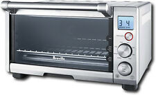 Breville - Compact Smart Oven Toaster Oven - Silver
