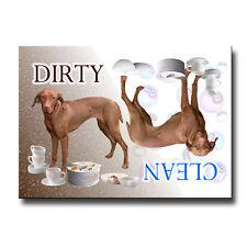 HUNGARIAN VIZSLA Clean Dirty DISHWASHER MAGNET New DOG