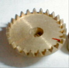 34 Tooth Brass CROWN Gear 48 Pitch Classic NOS Slot Car 1/24 1/32