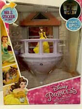 New 3D Light FX Disney Princess Belle Deco Night Light Includes Wall Sticker