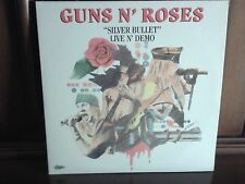 GUNS N' ROSES SILVER BULLET LIVE AND DEMO 2LP LEOPARD LLP 101-2 COME NUOVO