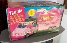 1995# RARE MATTEL BARBIE HORSE TRAILER CARAVAN CAR PLAYSET#NIB