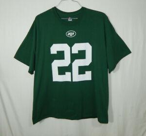 Matt Forte New York Jets #22 NFL Football T Shirt Majestic Mens Size 2XL XXL