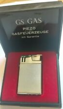RARE Fleetwood Piezo electric VINTAGE GS GAS CIGARETTE LIGHTER IN BOX tobacco
