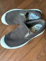 Keen Mens Canvas Brown Corduroy Slip On Loafer Shoes Size 8.5