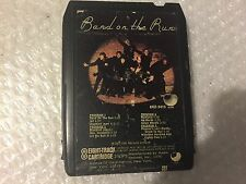 Vintage 8 Track Cassette Tape Band of the Run by Paul McCartney and Wings