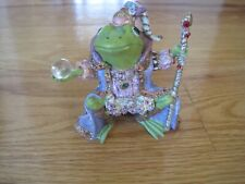 Wizard Figurine Wizard of Camelot Frogs Collection 1996 Hc