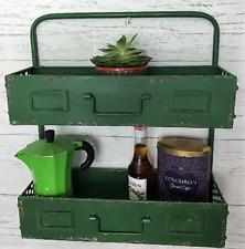 Industrial Vintage Style Metal Kitchen Shelf Storage Unit Cabinet Rack Shelving
