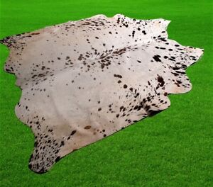 """New Cowhide Rugs Area Cow Skin Leather 26.22 sq.feet (59""""x64"""") Cow hide A-6808"""