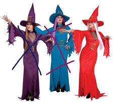 sorcière rouge avec decolleté taille 40/42 deguisement costume halloween fete