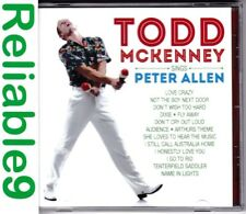 Todd McKenney+Lisa Callingham- Sings Peter Allen CD New not sealed- 2013 Fanfare