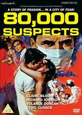 80,000 SUSPECTS. Claire Bloom, Mervyn Johns. New sealed DVD.