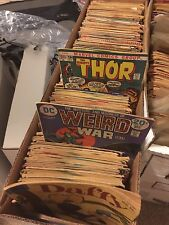 Comic Book Lot of (50) Marvel/DC/Indie titles - 1950s to 2000s!  Amazing deal!