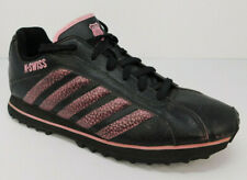 K-Swiss Men's Size 12 Low Top Shoes Sneakers Casual Pink Black Striped