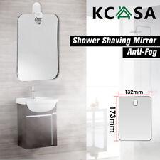 KCASA Anti-Fog Bathroom Mirror Shower Shave Mirror Mirror Hook/Suction Cup Mount