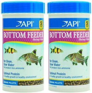 API Bottom Feeder Shrimp Pellet 7.9 Ounce (2 Pack)