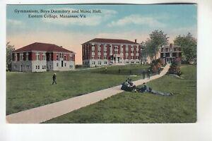 Gymnasium Boys Dormitory & Music Hall Eastern College Manassas VA
