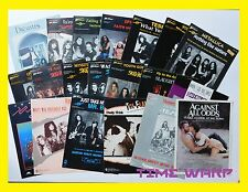 LARGE LOT OF 80s And 90s GUITAR TAB * TABLATURE * SHEET MUSIC * SKID ROW * TESLA
