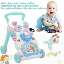 1 Tlg Kinder Laufwagen Lauflernhilfe Lauflernwagen Walker Baby Gehfrei Spielzeug