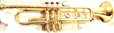 """BRASS FINISH BRASS BB TRUMPET MOUTH PIECE BELL SIZE 4.5"""" WITH BAG"""