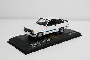 MINICHAMPS 400084470 Ford Escort II RS1800 1975 White 1/43 #NEW