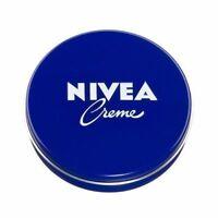NIVEA CREME USE FACE BODY HANDS MOISTURIZES ALL SKIN TYPES 30ml 75ml 150ml 250ml