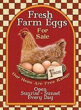 Fresh Farm Eggs fridge magnet    (og)