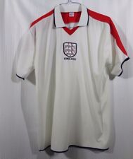 England Unofficial Soccer Jersey Size Large