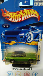 hot wheels First Editions 68 Cougar version toit brillant 2002-029 (CP03)