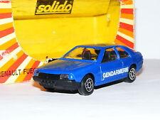 Solido 1203 Renault Fuego Gendarmerie 1/43 Boxed