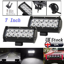 2520LM 36W LED Work Light Bar White Beam Offroad Driving Lamp UTB Marine 4WD 4X4