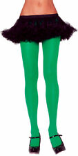 Morris Costumes Women's Nylon Opaque Tights Green One Size. UA12GR