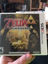 The Legend of Zelda: A Link Between Worlds Cart And Case  (Nintendo 3DS) Game