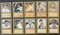 D. Gordon 10 Card Lot including Mickey Mantle, Babe Ruth, Willie Mays and more!