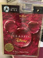 WALT DISNEY'S CLASSIC DISNEY VOL 1 LONGBOX CD ORIGINAL1ST blister pack