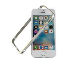 iPhone SE 5 5s Aluminium Rahmen Schutz Bumper neu Hülle Alu Cover silber