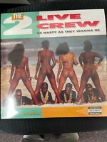 2 Live Crew As Nasty As They Wanna Be RARE LP***BRAND NEW 2 COLOR***