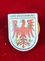 Land Brandenburg Germany State Coat Of Arms Heraldry Lion Epoxy Pin .60""