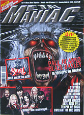 METAL MANIAC 1 2014 Paul Di'Anno Avatarium Ghost BC Raven Nightwish Stryper