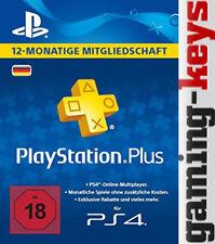 PlayStation plus live Card Network 365 Tage 12 Monate 1 Jahr De