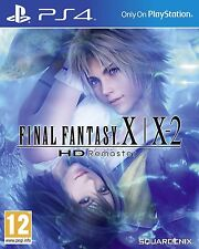 Final Fantasy X | X-2 HD Remaster [PlayStation 4 PS4, Region Free, JRPG] NEW